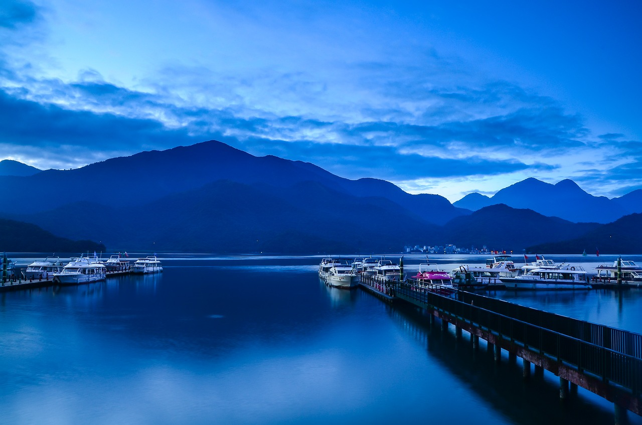 台湾観光の絶景スポット日月潭に旅行しレビュー